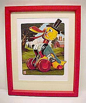 Fisher Price Toy Dr Doodle Limited Ed Nursery Print NIB (Image1)