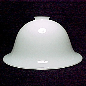 Hanging Pendant  Bowl Light Lamp Shade 2 1/4 X 11 in White Glass  Bell (Image1)