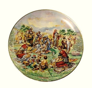 Vintage 1980 China Collector Plate Manna from Heaven (Image1)