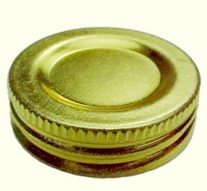 Aladdin Brass Filler Cap Oil Kerosene Lamp Parts New (Image1)