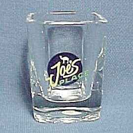 Vintage Joe s Place Camel Cigarette Drink Shot Glass (Image1)