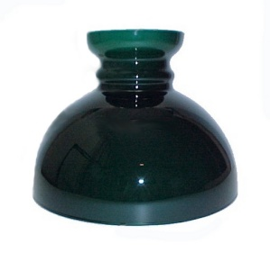 New Vianne Green Glass 10 In Student Oil Lamp Shade