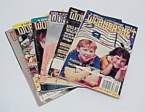 Lot of 6 Workbasket Magazines Knit Crochet 1990 to 1992 (Image1)