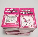 Click here to enlarge image and see more about item 1001: Lot of 20 Colgate Toothpaste Happy Tooth Card Game Advertising Premium