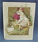 Victorian Trade Card McLaughlin's Coffee 1 of 16 cards