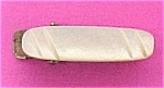 Click here to enlarge image and see more about item 17565: Vintage Mother of Pearl Tie Clip Bar MOP