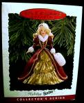 Click to view larger image of New 1996 Hallmark Barbie Christmas Tree Ornament Holiday Keepsake (Image1)