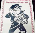 Click to view larger image of Cracker Jack Enamel Enameled Vintage Advertising Sign (Image2)