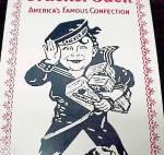 Click to view larger image of Cracker Jack Enamel Enameled Vintage Advertising Sign (Image2)