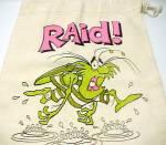 Click to view larger image of Raid Beach Bag 1979 SC Johnson Bug Spray Advertising (Image2)