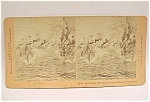 Click here to enlarge image and see more about item 230: Stereo View Stereoscope Card Stereoview BATTLE O MANILA