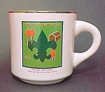Click here to enlarge image and see more about item 23427: 1982 Boy Scout Scouting Mug Cup Wapsiketa District HAC