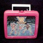 Click here to enlarge image and see more about item 25685: Vintage 1995 VR Troopers Plastic Lunch Box Lunchbox