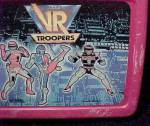 Click to view larger image of Vintage 1995 VR Troopers Plastic Lunch Box Lunchbox (Image3)