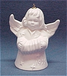 Click here to enlarge image and see more about item 27403: 1979 Goebel Angel Bell Christmas Tree Ornament