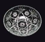 Click to view larger image of Anchor Hocking Glass Early American Prescut Salad Bowl (Image3)