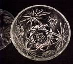 Click to view larger image of Anchor Hocking Glass Early American Prescut Candy Dish (Image4)