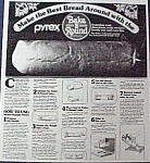 Click here to enlarge image and see more about item 30000: Pyrex By Corning Bread Bake A Round Paper Recipes Only