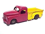 Click here to enlarge image and see more about item 3168: Structo Pickup Truck Pressed Steel Nice Old Vintage 1940s Toy