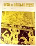 Click to view larger image of 1972 Iowa Hawkeyes vs Chicago State Basketball Program IA Illinois IL (Image1)