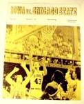 Click to view larger image of 1972 Iowa Hawkeyes vs Chicago State Basketball Program IA Illinois IL (Image2)