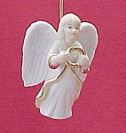 Click here to enlarge image and see more about item 38242: China Flying Angel Figurine Christmas Tree Ornament