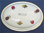 Click here to enlarge image and see more about item 38274: Georges Briard Ambrosia Enamelware Roaster Pan LID