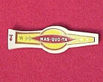 Click here to enlarge image and see more about item 40490: MAS-QUO-TA Cigar Band Label Mint