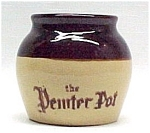 Click here to enlarge image and see more about item 40896: Pemter Baked Beans Individual Bean Pot Advertising