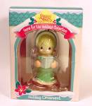 Click here to enlarge image and see more about item 41108: Precious Moments 1995 Christmas Tree Holiday Ornament