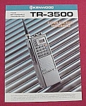 Kenwood Amateur Ham Radio TR-3500 Transceiver Flyer