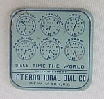 Click here to enlarge image and see more about item 41875: International Dial Watch Parts Tin Vintage Advertising