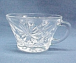 Click here to enlarge image and see more about item 426: Early American Prescut Punch Bowl Snack Set 6 oz CUP