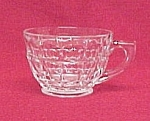Click here to enlarge image and see more about item 439: Constellation Intaglio CUP Indiana Glass Tiara Teacup