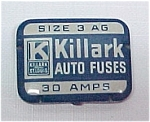 Click here to enlarge image and see more about item 44032: Killark Auto Fuse Tin Fuses St. Louis Missouri MO