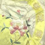 Click to view larger image of Vintage Oriental Japanese Kimono Pajamas 1940s 1950s (Image2)