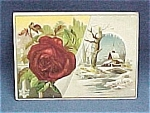 Victorian Trade Card Lion Coffee Woolson Spice Co.