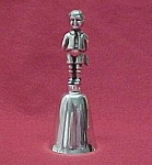 Click here to enlarge image and see more about item 46243: Reed & Barton Boy Bell Silver Plate Plated Silverplate