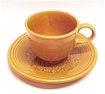 Click here to enlarge image and see more about item 47177: Homer Laughlin Fiesta Casualstone Cup & Saucer