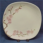 Click here to enlarge image and see more about item 47252: Metlox Peach Blossom Dinner Plate PoppyTrail Vintage