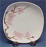Click here to enlarge image and see more about item 47260: Metlox PoppyTrail Peach Blossom Bread Plate