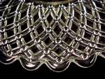 Click to view larger image of Basketweave Sandwich Server Tray Center Handled Plate (Image3)