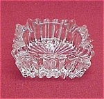 Heisey Ridgeleigh Square Ashtray Depression Glass