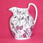 Click to view larger image of Wedgwood Copper Lustre Pitcher Antique Jug Luster Ware (Image1)