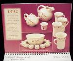 Click to view larger image of Autumn Leaf Jewel T Tea Hall China NALCC 2000 Calendar Collectors Ed (Image5)