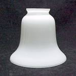 White Glass Lamp Light Bell Shade 2 1/4 for Chandelier Sconce Fan
