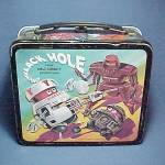 Click to view larger image of Black Hole Metal Lunch Box Walt Disney Lunchbox Vintage (Image2)