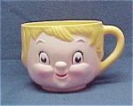Click here to enlarge image and see more about item 51421: Campbell Kids Girl Cup Mug Melmac Melamine