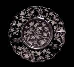 Click to view larger image of Fostoria Chintz Salad Plate Elegant Depression Glass (Image2)