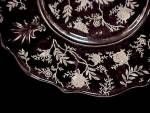 Click to view larger image of Fostoria Chintz Salad Plate Elegant Depression Glass (Image3)